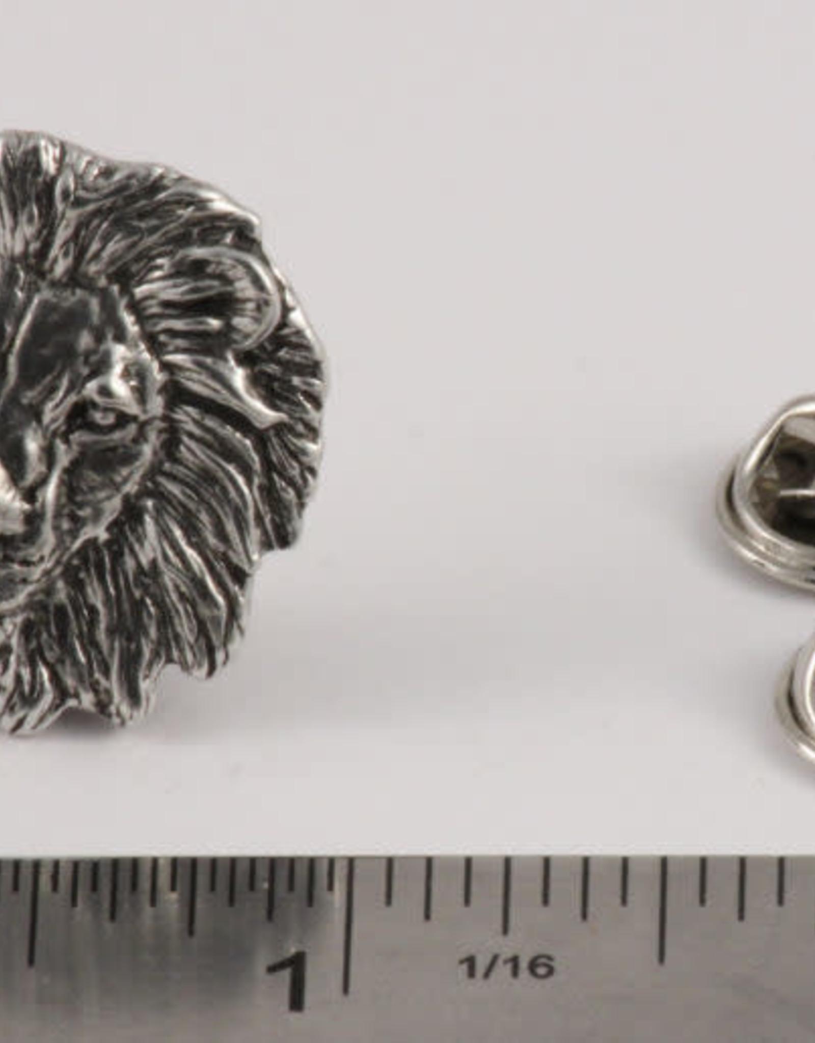 Copper Lion Pin/Brooch