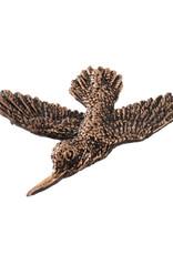 Copper Premium Hummingbird Pin/Brooch