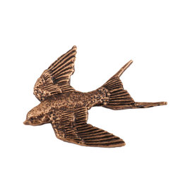 Copper Premium Swallow Pin/Brooch