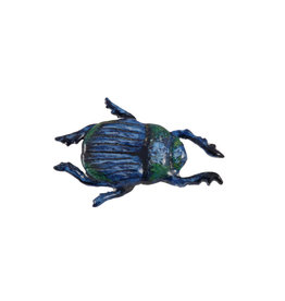 Hand Painted Beetle Pin/Brooch