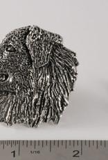 Pewter Australian Shepherd Pin/Brooch