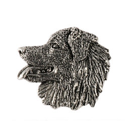 Pewter Australian Shepherd Pin/Brooch