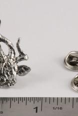 Pewter Kudu Pin/Brooch