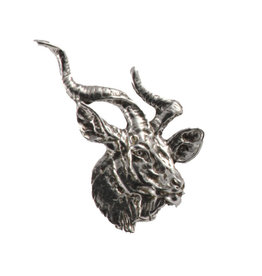 Pewter Kudu Pin/Brooch