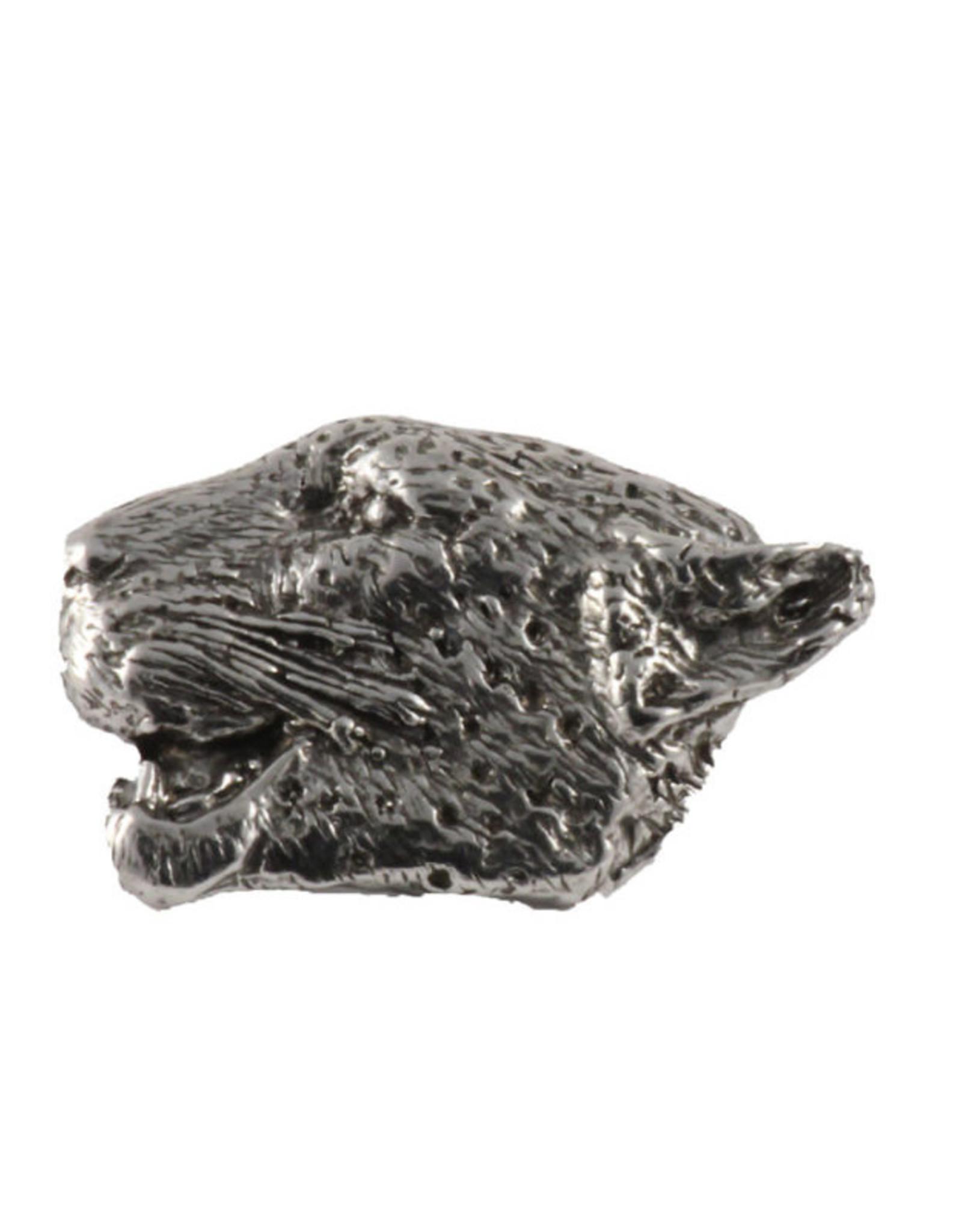 Pewter Leopard Pin/Brooch