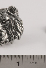 Pewter Tiger Pin/Brooch