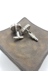 Asana Natural Arts Stainless Steel Butterfly Wing Cufflinks - Monarch