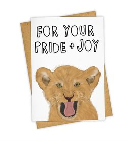 """For Your Pride and Joy"" Baby Greeting Card - Tay Ham"