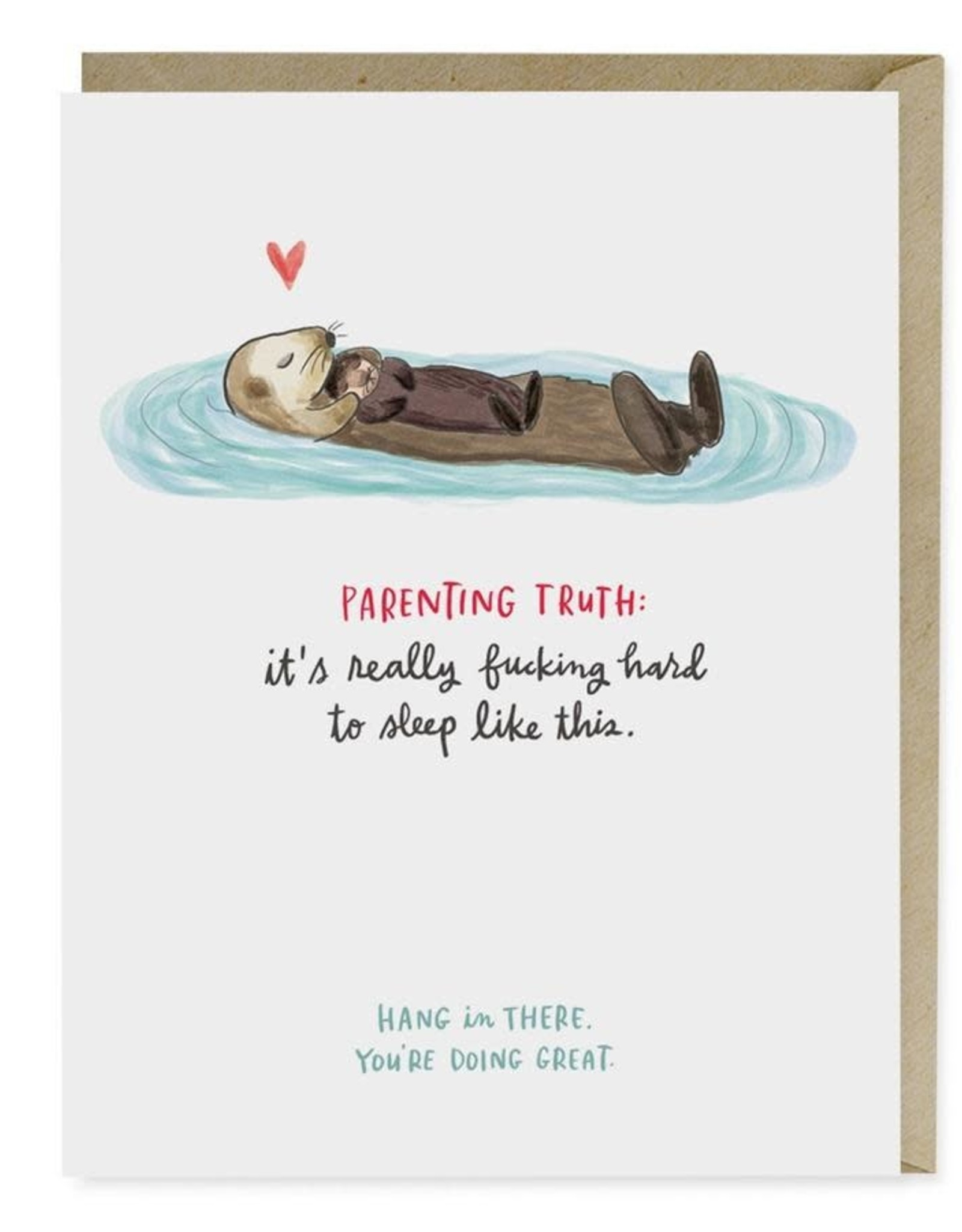 """Emily McDowell """"Parenting Truth"""" Baby Greeting Card - Emily McDowell"""