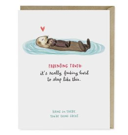 "Emily McDowell ""Parenting Truth"" Baby Greeting Card - Emily McDowell"