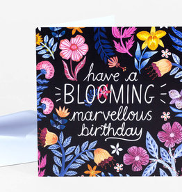 """Have a Blooming Birthday"" Greeting Card - Papio Press"