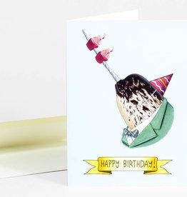 Berkley Illustration Happy Birthday Narwhal Greeting Card - Ryan Berkley