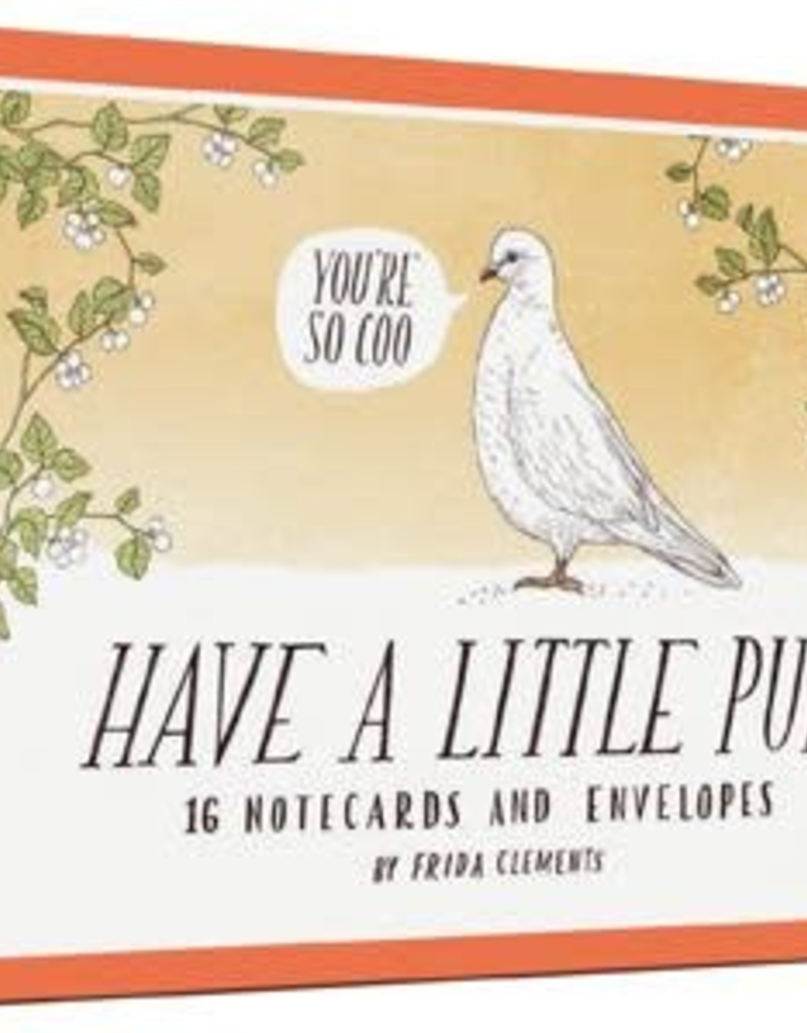 Have A Little Pun Notecards by Frida Clements