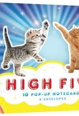 High Five - Ten Pop Up Notecards