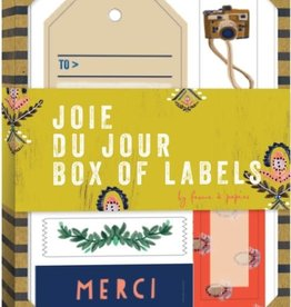Joie Du Jour Box of Labels