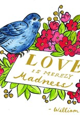 Molly Hatch Literary Love Everyday Embellished Notecards