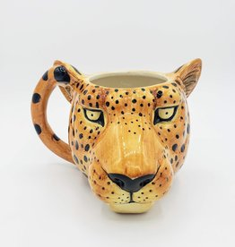 Big Cat Mug, Ceramic Cheetah