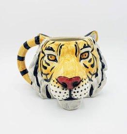 Tiger Mug, Ceramic