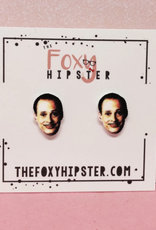 The Foxy Hipster John Waters Shrinky Dink Post Earrings - The Foxy Hipster