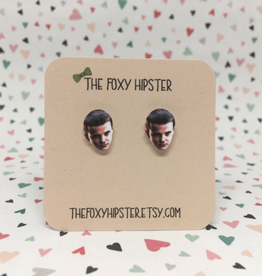 The Foxy Hipster Stranger Things Eleven Shrinky Dink Post Earrings - The Foxy Hipster