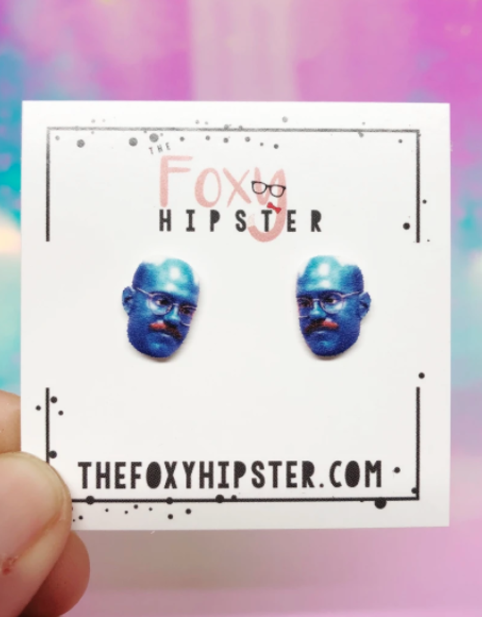 The Foxy Hipster Tobias from Arrested Development Shrinky Dink Post Earrings - The Foxy Hipster