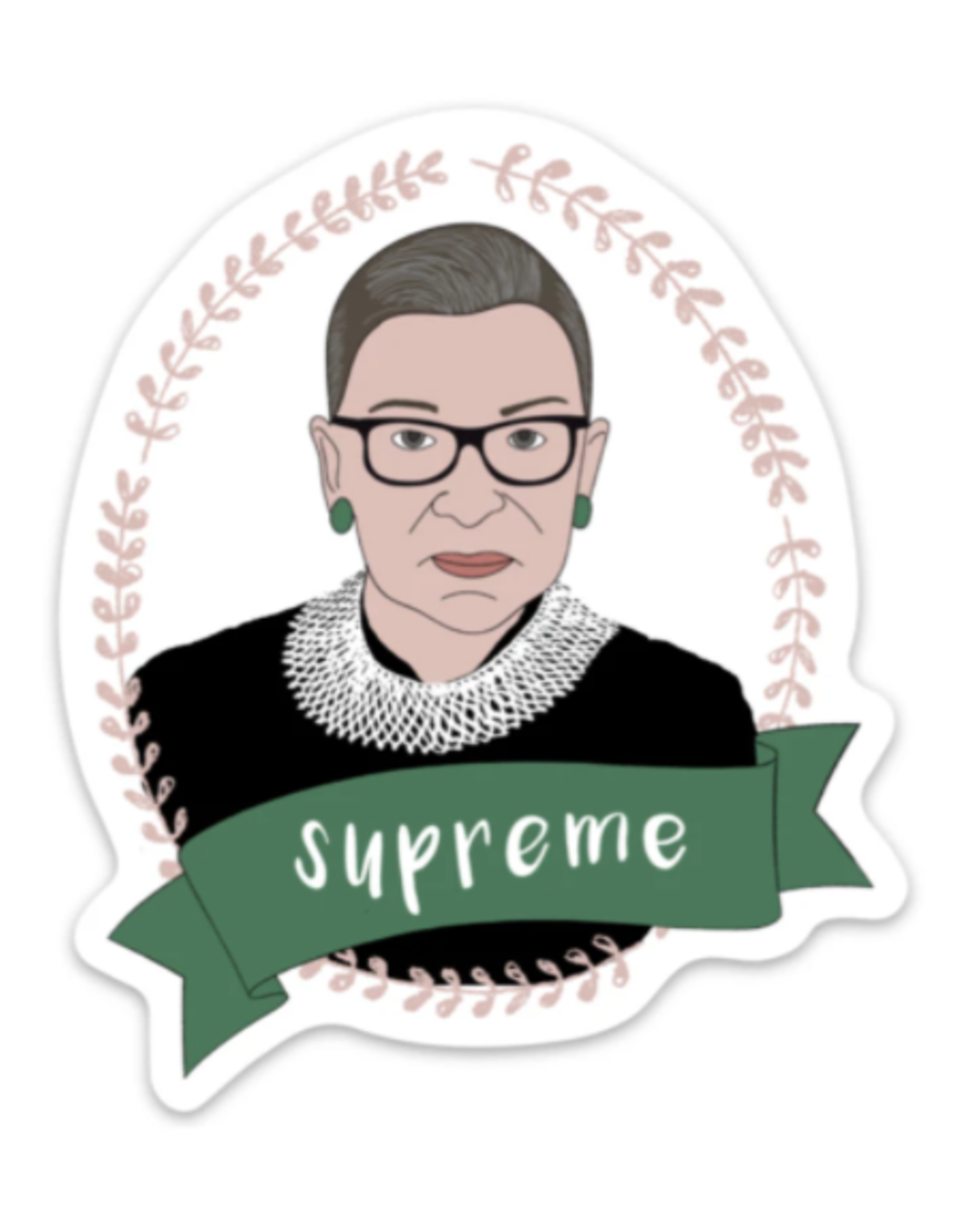 The Foxy Hipster Ruth Bader Ginsburg Sticker - The Foxy Hipster