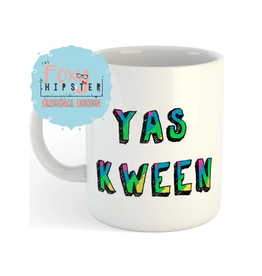 The Foxy Hipster Yas Kween Mug by The Foxy Hipster