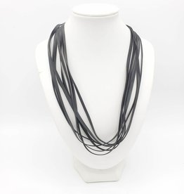 Bike Tire Strips Necklace