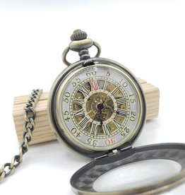 IGNY Vintage Style 1 Mechanical Pocket Watch - Large