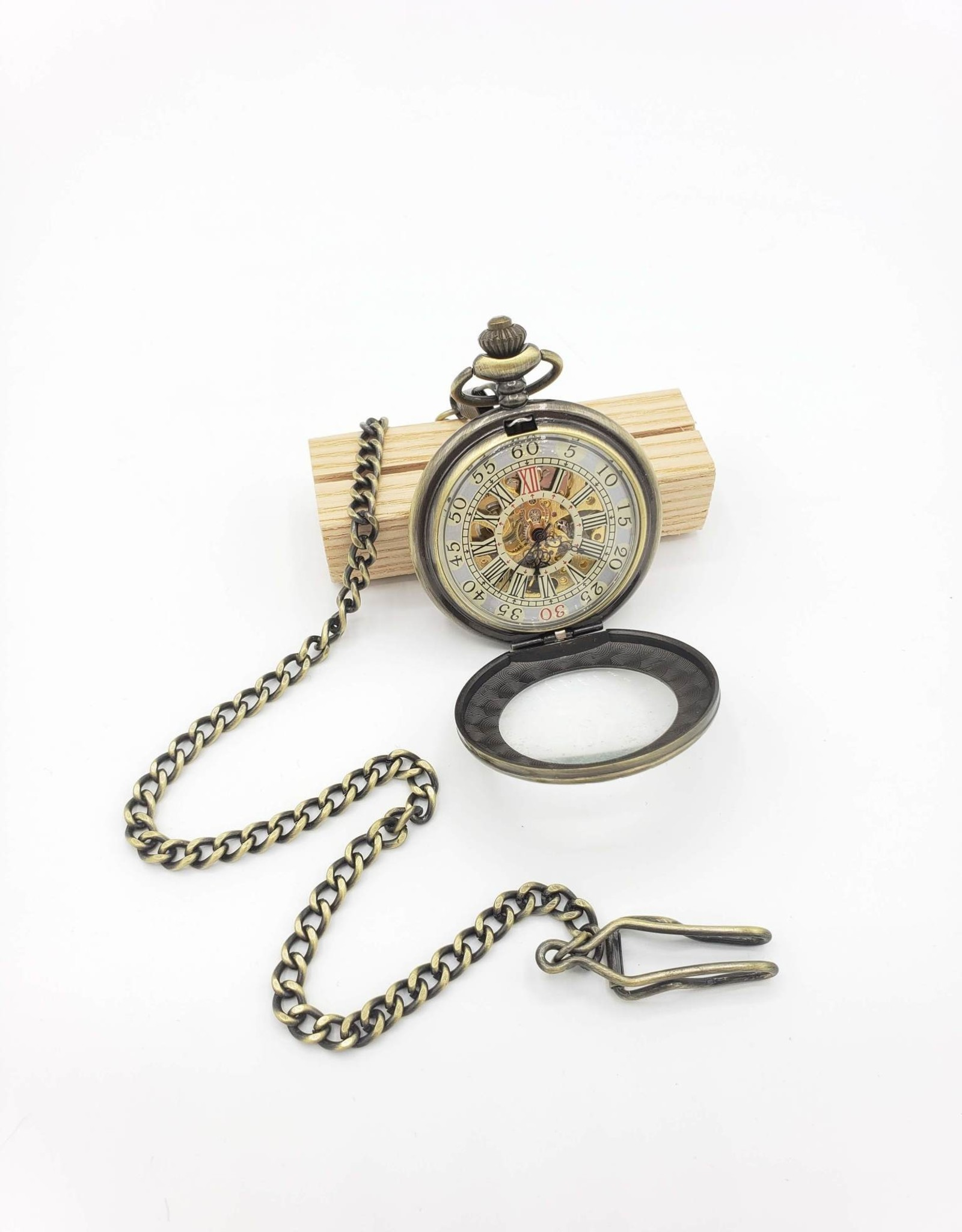 IGNY Vintage Style 1 Mechanical Pocket Watch - Large