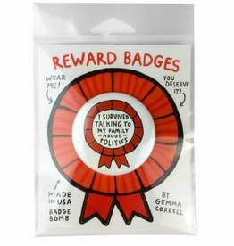 Gemma Correll Reward Badge by Gemma Correll