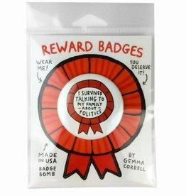 Reward Badge by Gemma Correll