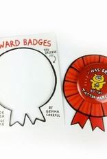 "Gemma Correll ""I Survived Talking Politics"" Reward Badge by Gemma Correll"