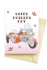 """Seltzer """"Bad Ass Mothers Day"""" Greeting Card - Seltzer"""