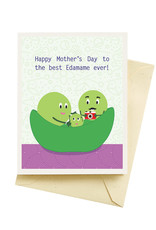 Seltzer Edamame Day Mothers Day Greeting Card - Seltzer