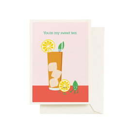 Seltzer Sweet Tea Love Greeting Card - Seltzer
