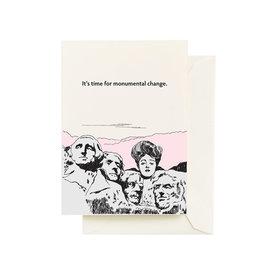 Seltzer Monumental Greeting Card - Seltzer