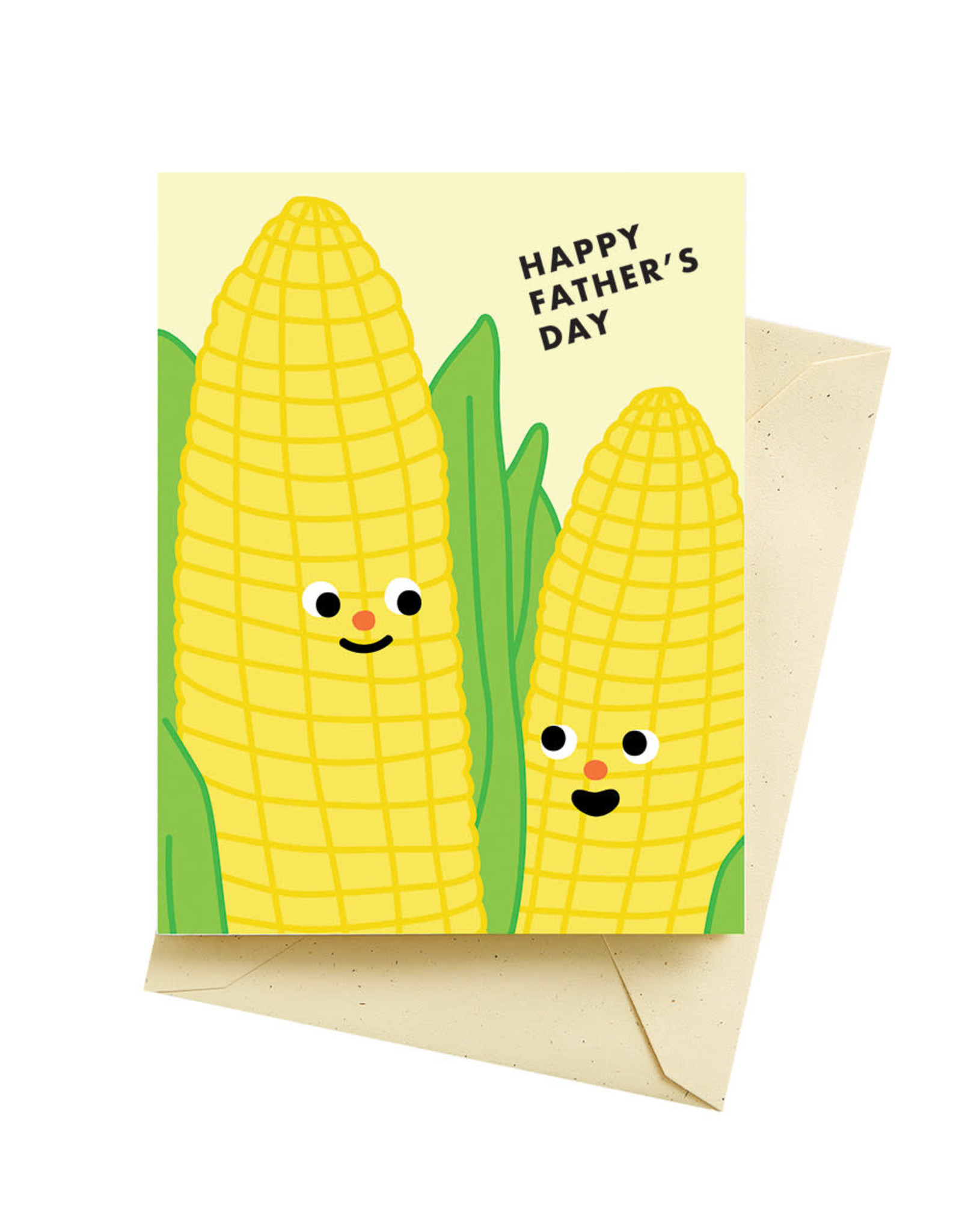 Seltzer Corn Fathers Day Greeting Card - Seltzer