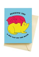Seltzer Big Cats Congratulations Greeting Card - Seltzer