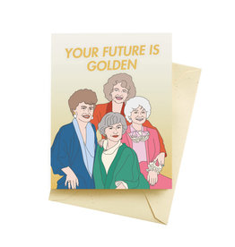 Seltzer Golden Congratulations Greeting Card - Seltzer