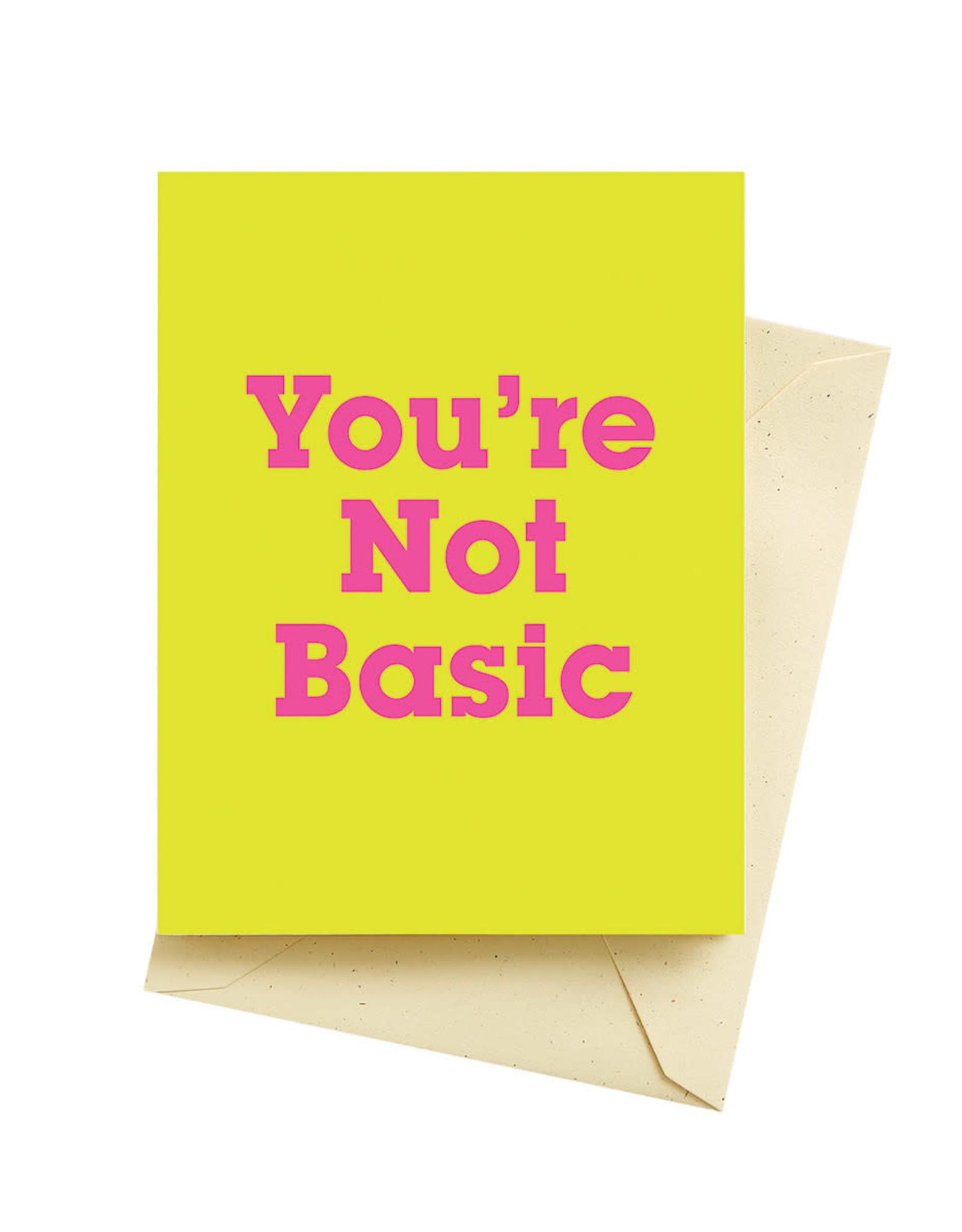 Seltzer Basic Birthday Greeting Card - Seltzer
