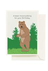 Seltzer Bear Birthday Greeting Card - Seltzer