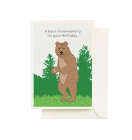 Seltzer Bear Birthday Greeting Card - Seltzer