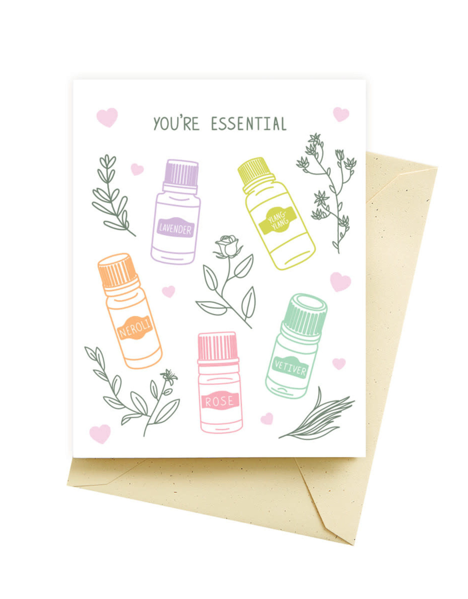 Seltzer Essential Love Greeting Card - Seltzer