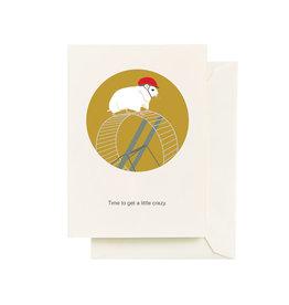 Seltzer Hamster Birthday Greeting Card - Seltzer