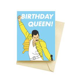 Seltzer Queen Birthday Greeting Card - Seltzer