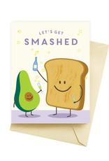 Seltzer Smashed Birthday Greeting Card - Seltzer