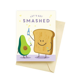 Seltzer Smashed Birthday Greeting Card - Seltzer
