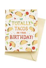 Seltzer Tacos Birthday Greeting Card - Seltzer