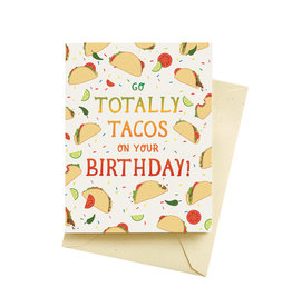 Seltzer Tacos Birthday Greeting Card - Seltzer